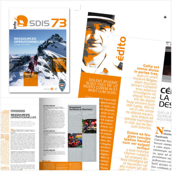 Magazine Interne Sdis73