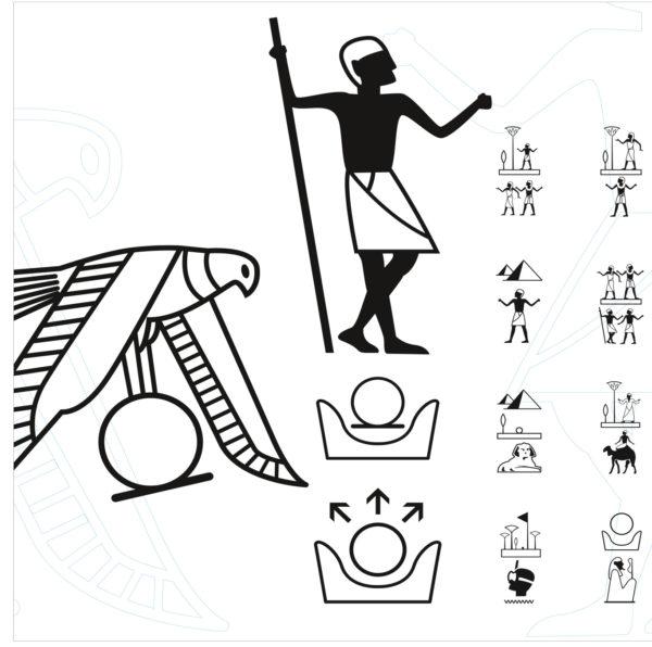 Identité visuelle Tourism Egypt