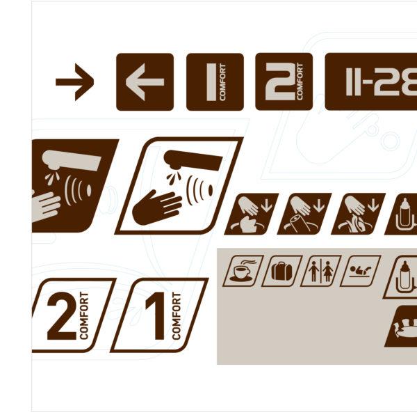 Identité visuelle TGV Thalys