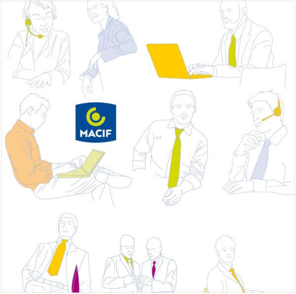 Illustrations Corporate Macif