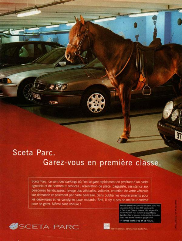 Annonce Presse Parkings Sceta Parc