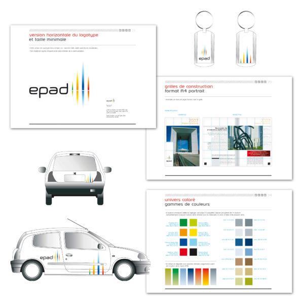Charte graphique EPAD